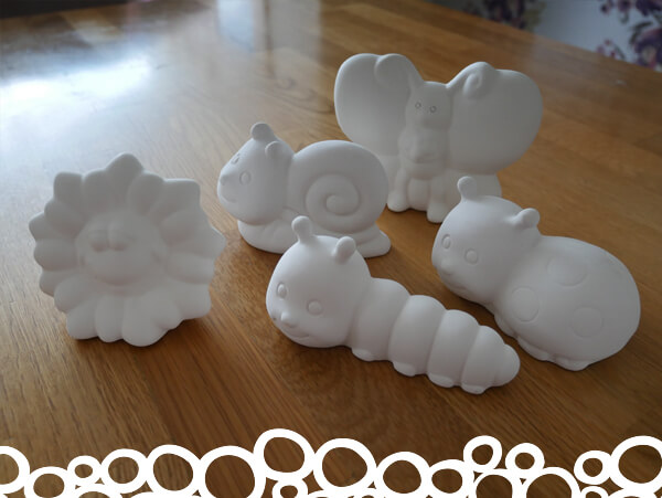 Angel Crafts Pottery Painting Garden Fun Package