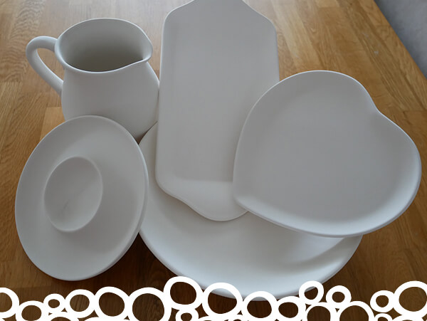 Angel Crafts Pottery Painting Party Platter Package