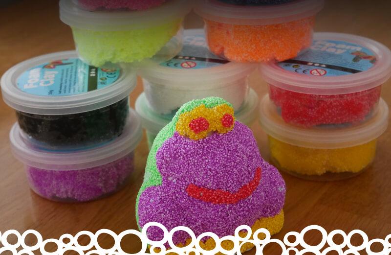 Angel Crafts Foam Clay