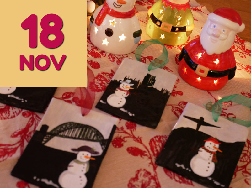 18 November Angel Crafts Pottery Painting